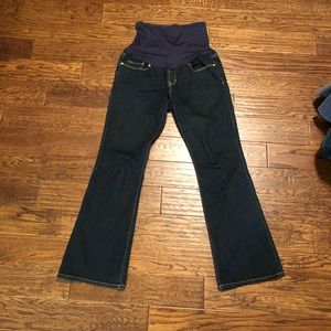 Gap Maternity Jeans size 4 Ankle Petitie